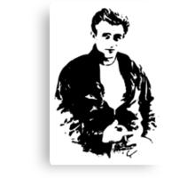 James Dean - Tee Canvas Print