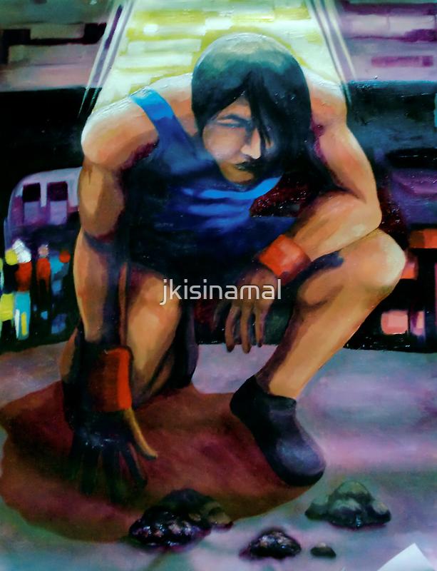 'Never Give Up' by jkisinamal
