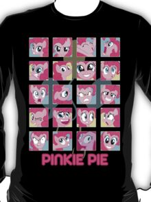 The Many Faces of Pinkie Pie T-Shirt