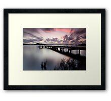 Sunset Strahan Style Framed Print