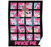 The Many Faces of Pinkie Pie Poster
