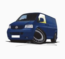 VW T5 Transporter Van Indian Blue Kids Clothes
