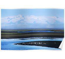 Iceland, Vatnajokull glacier landscape Poster