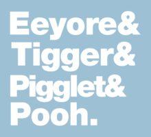 Eeyore&Tigger&Pigglet&Pooh Kids Clothes