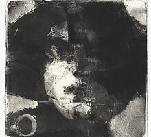 mono print face by djones
