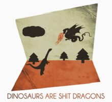 Dinosaurs Are Shit Dragons : Modern Pop Music For The Socially Inept by beepea