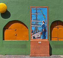 Wall in La Boca by Peter Hammer