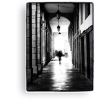 A light at the end of the tunnel Canvas Print