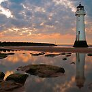 Perch Rock Lighthouse by Wayne  Molyneux