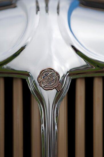 1931 Chrysler Coupe Grille Emblem by Jill Reger