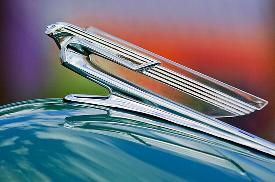 1940 Chevrolet Hood Ornament 2 by Jill Reger
