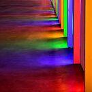 Light Wall Rainbow by SuddenJim