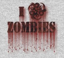 I Biohazard Zombies Kids Clothes