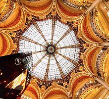 Galeries Lafayette Paris by Harmeet Gabha
