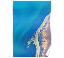 Land Meets Sea Poster