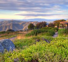 Mt Stirling - Craigs Hut by Richard  Cubitt