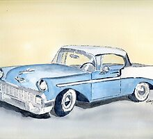 Chevy Bel Air - 56 by Eva  Ason