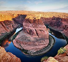 Horseshoe Bend at Sunrise by Gregory Ballos | gregoryballosphoto.com