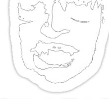 Garret Crisis Alert  Sticker