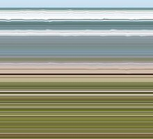 Sky Water Beach Grass by Michelle Calkins