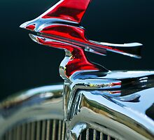 "1933 Franklin Olympic ""Stylized Bird"" Hood Ornament by Jill Reger"