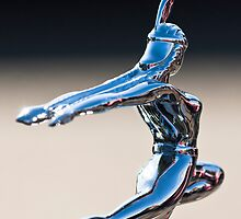 "1935 Pontiac Sedan ""Indian Maiden"" Hood Ornament 3 by Jill Reger"