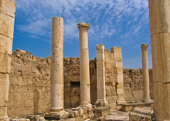 Ruins of Jerash by Dean Cunningham