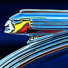 1939 Pontiac Silver Streak &quot;Chief&quot; Hood Ornament 1 by Jill Reger
