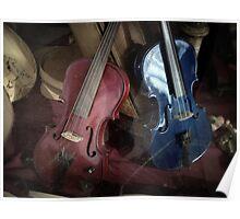 The Violin Shop Poster