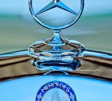 Mercedes Benz Hood Ornament 1 by Jill Reger