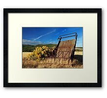 A Reminder Of The Past Framed Print