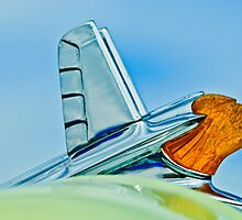 "1953 Pontiac ""Chief"" Hood Ornament by Jill Reger"