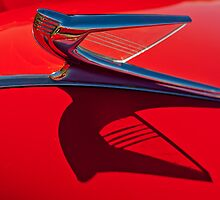 "1939 Chevrolet ""Stylized Bird"" Hood Ornament 2 by Jill Reger"