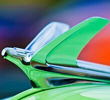 1950 Chevrolet Bel Air Hood Ornament 1 by Jill Reger