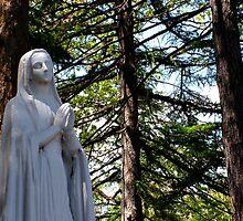 Mary In Prayer by Jane Neill-Hancock