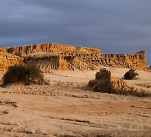 Ancient Land Forms at Sunset by Carole-Anne