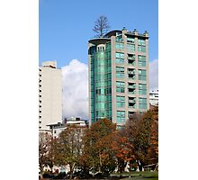 Highrise at English Beach, Vancouver Photographic Print