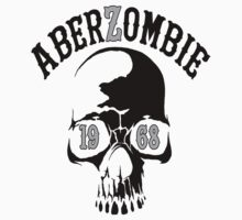 AberSkull 1968 Black Sticker by Aberzombie & Stitch ™©®