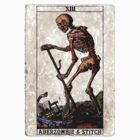 Death Card Sticker by Aberzombie & Stitch ™©®