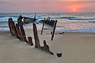 Dicky Beach  Caloundra  Queensland by William Bullimore
