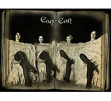 Can-Can Photographic Print