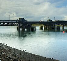Jubilee Bridge,Barrow-In-Furness by VoluntaryRanger