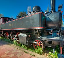 Steam Locomotive by Stavros