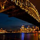 Lights on,  Sydney !! by miroslava