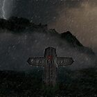 Gothic Cross by VirtualArtist
