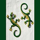 Gecko iPhone case by physiognomic