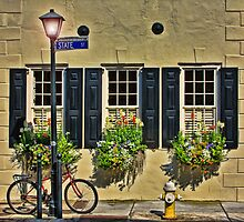 Charleston Street Scape by KRphotog
