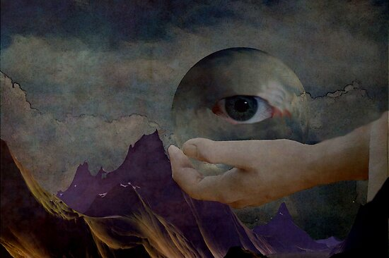 Eye of the world by Marie Luise  Strohmenger