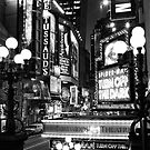 Down on 42nd Street by Randy  Le&#x27;Moine