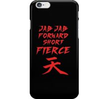 Jab Jab Forward Short Firece  iPhone Case/Skin